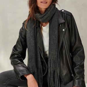 Lucky Brand | Solid Brushed Scarf FabFitFun NWT
